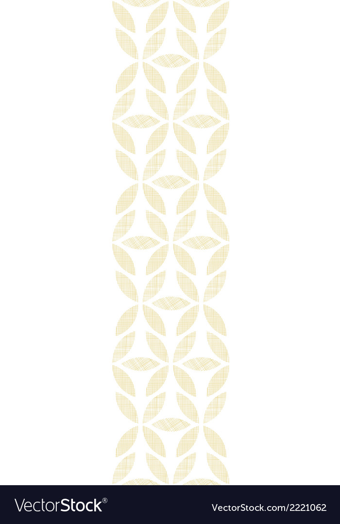 Abstract textile beige leaves vertical seamless vector | Price: 1 Credit (USD $1)