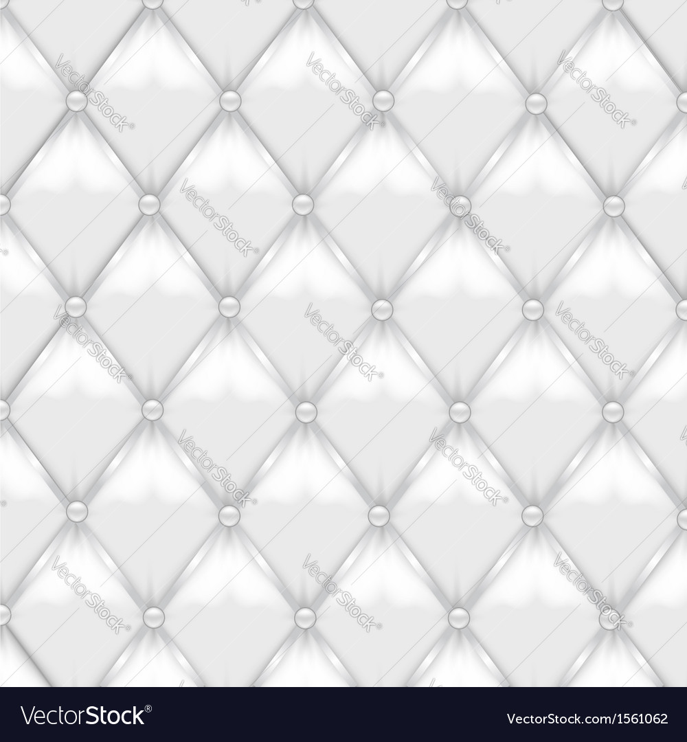 White leather upholstery vector | Price: 1 Credit (USD $1)