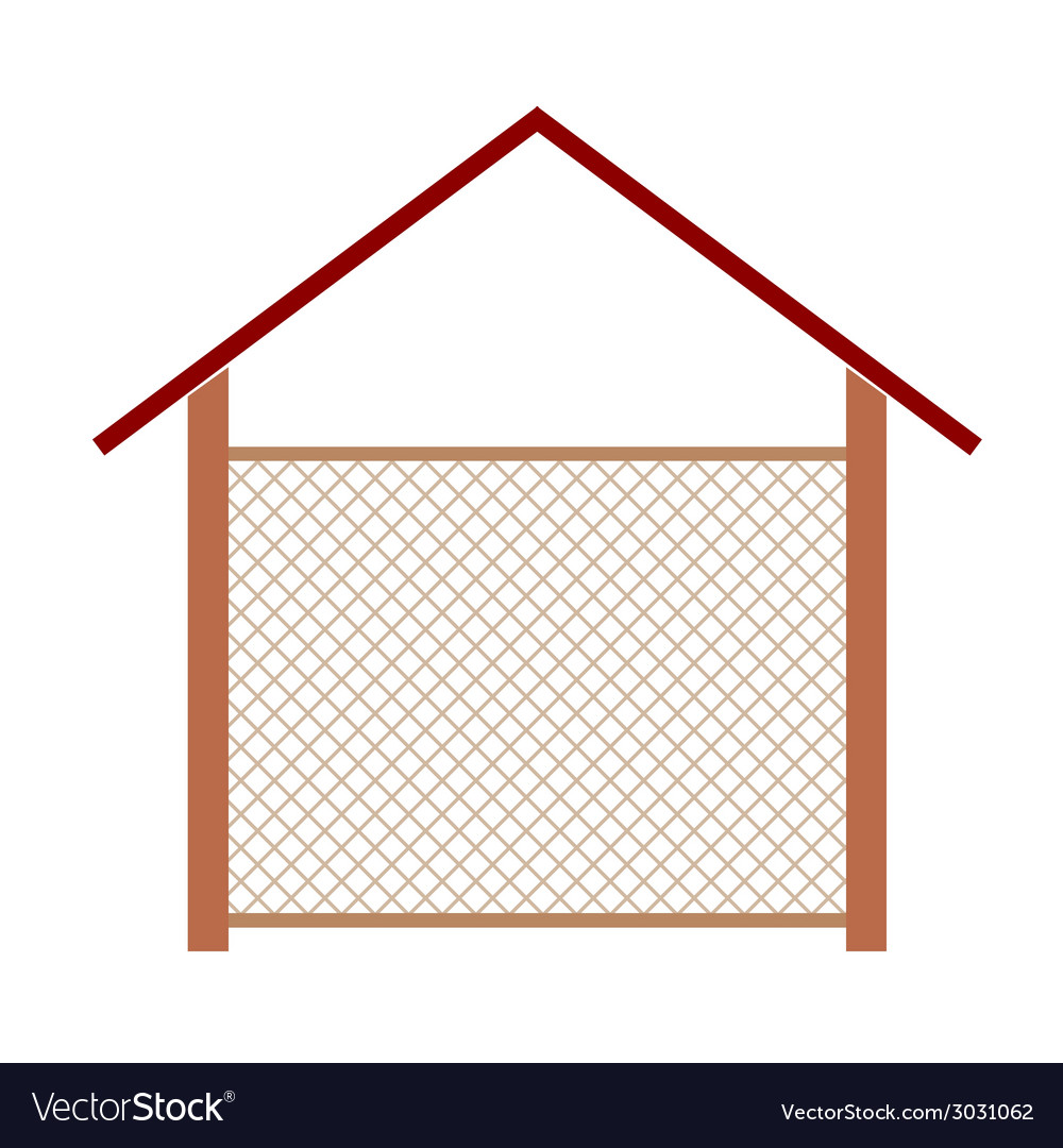 Wooden house for the well vector | Price: 1 Credit (USD $1)