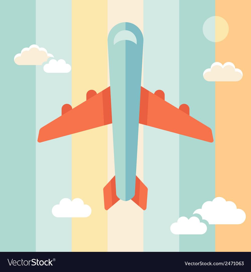 Plane stripe vector | Price: 1 Credit (USD $1)
