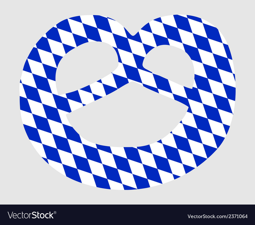Bavarian pretzel vector | Price: 1 Credit (USD $1)