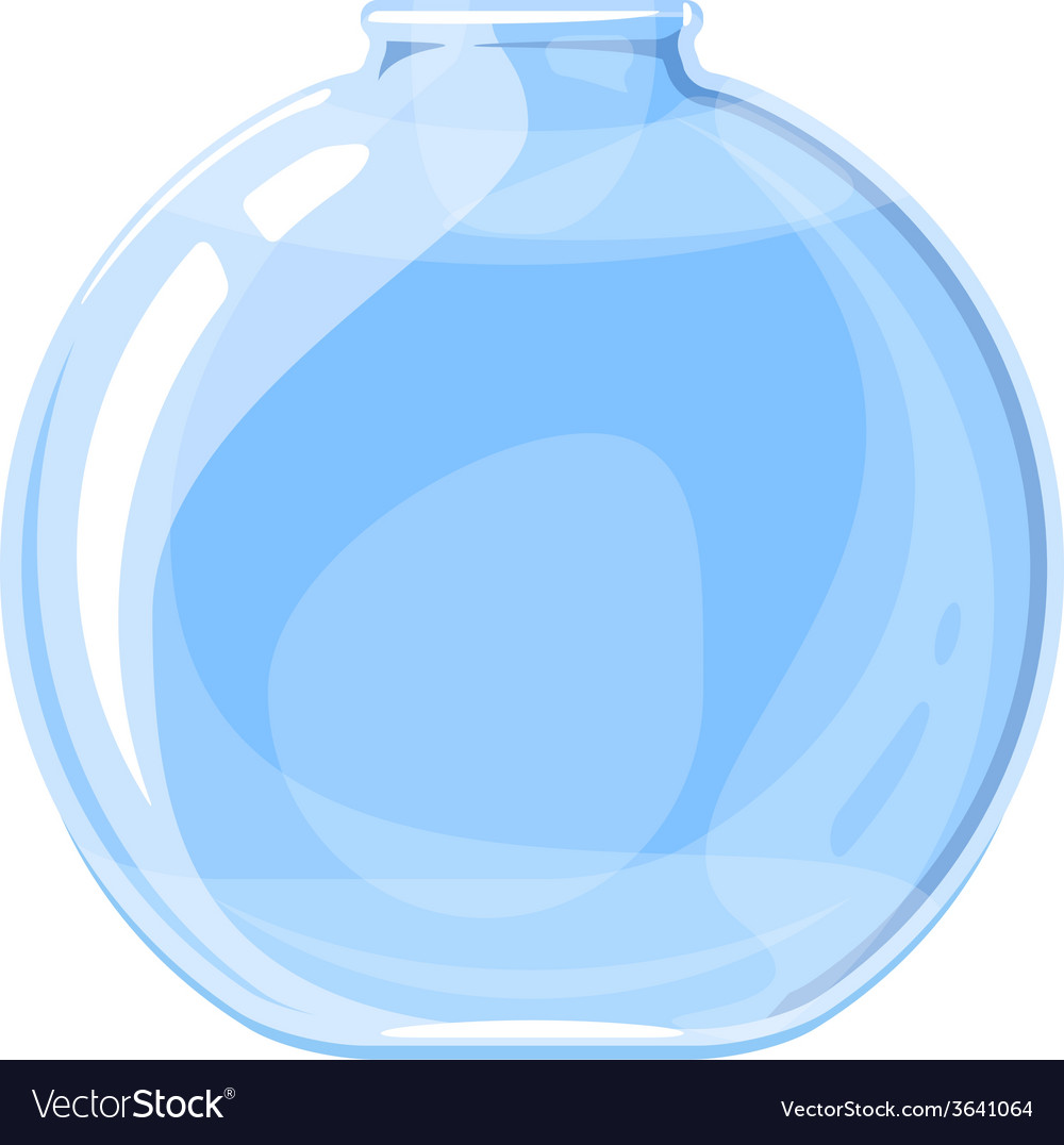 Empty elixir bottle vector | Price: 1 Credit (USD $1)