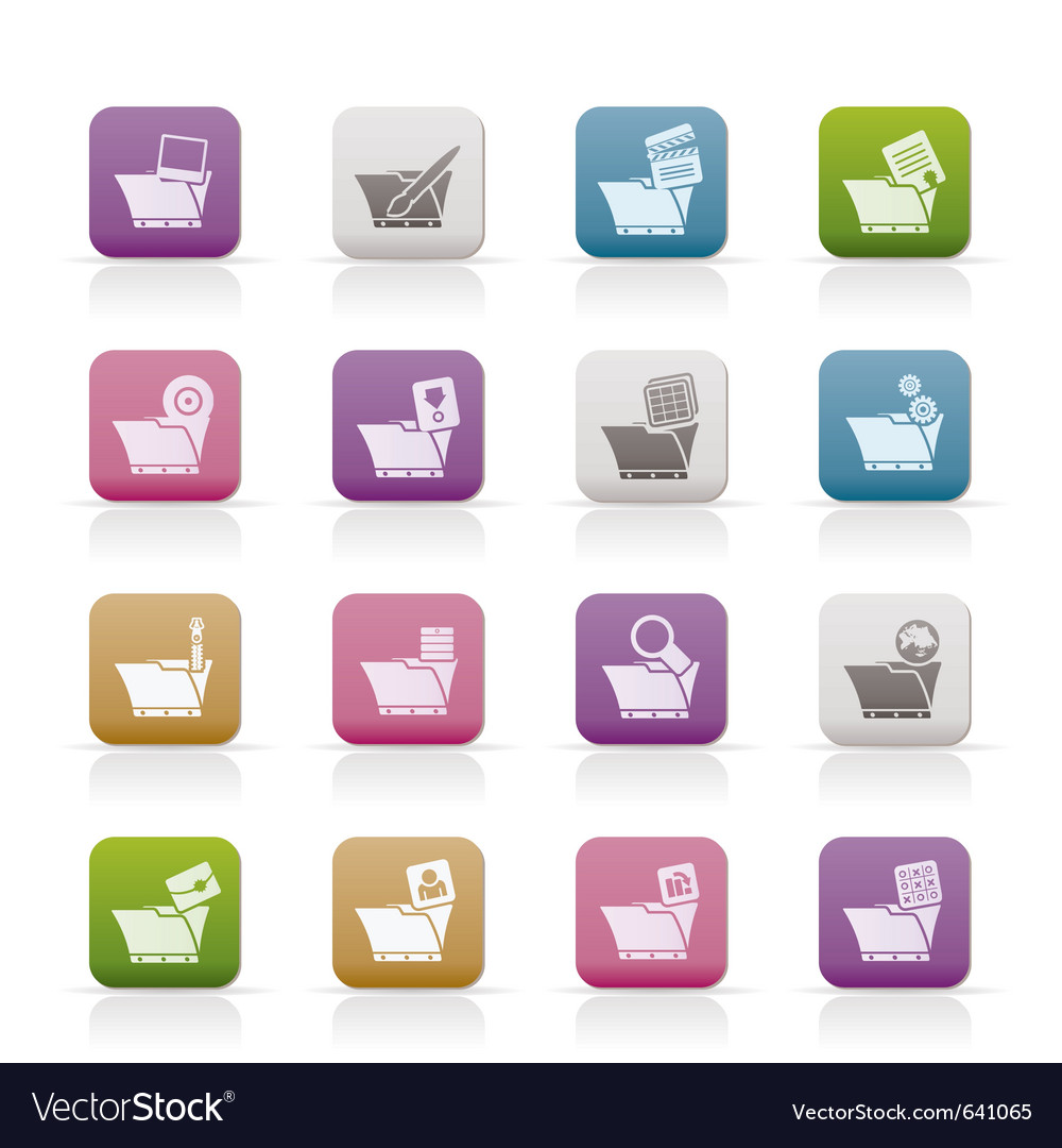 Computer and phone icons vector | Price: 1 Credit (USD $1)