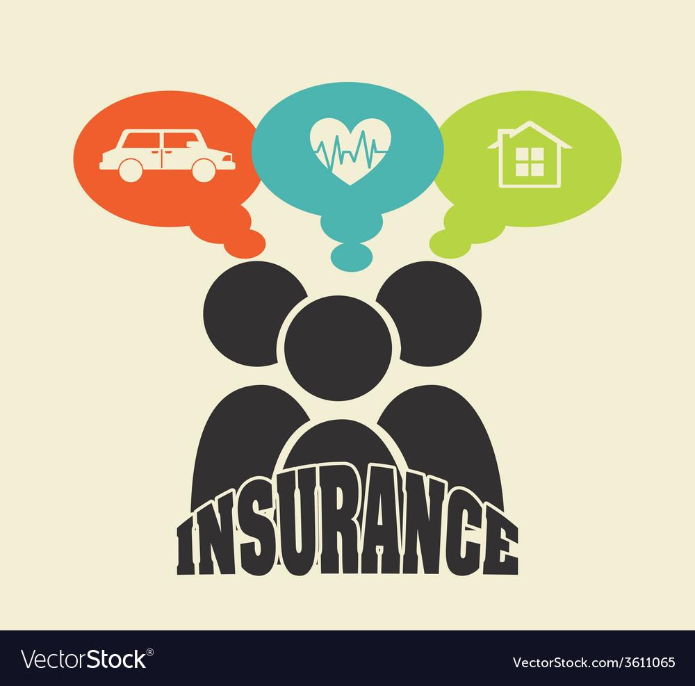 Insurance icon vector | Price: 1 Credit (USD $1)