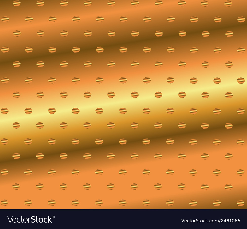 Abstract golden dotted background vector | Price: 1 Credit (USD $1)