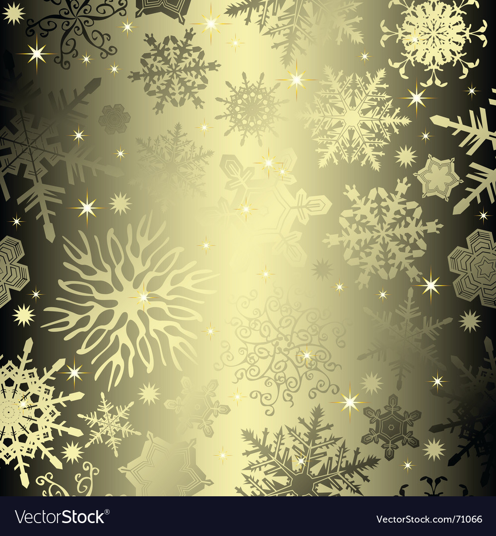 Seamless snowflake vector | Price: 1 Credit (USD $1)