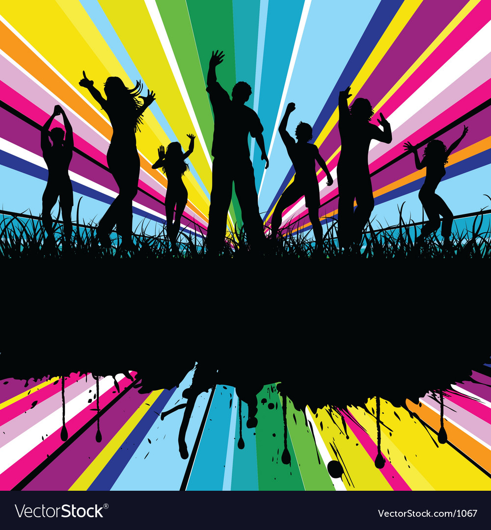 Colourful party vector | Price: 3 Credit (USD $3)