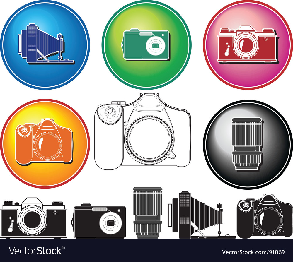 Camera history vector | Price: 1 Credit (USD $1)