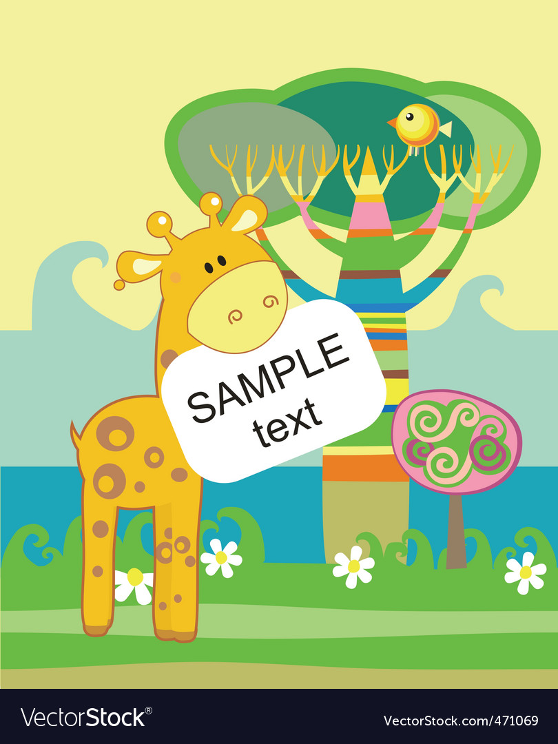 Cartoon zoo vector | Price: 1 Credit (USD $1)