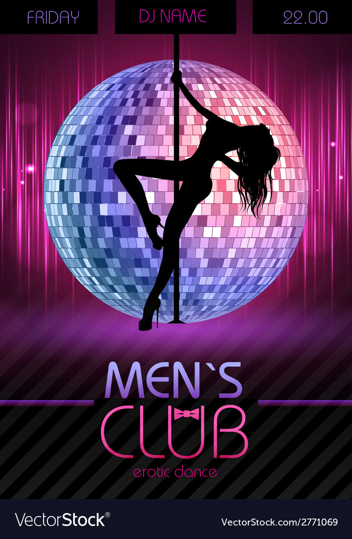 Disco background disco poster vector | Price: 1 Credit (USD $1)