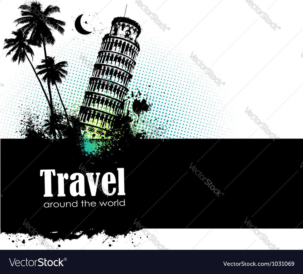 Travel design element vector   Price: 1 Credit (USD $1)