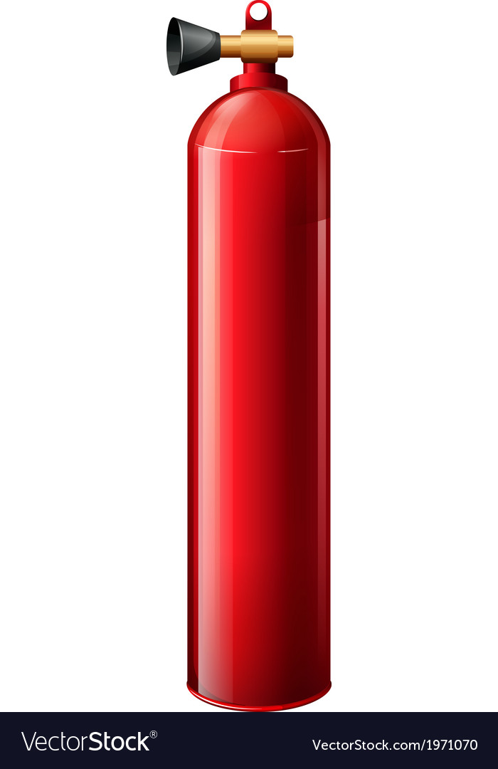 A red oxygen tank vector | Price: 1 Credit (USD $1)