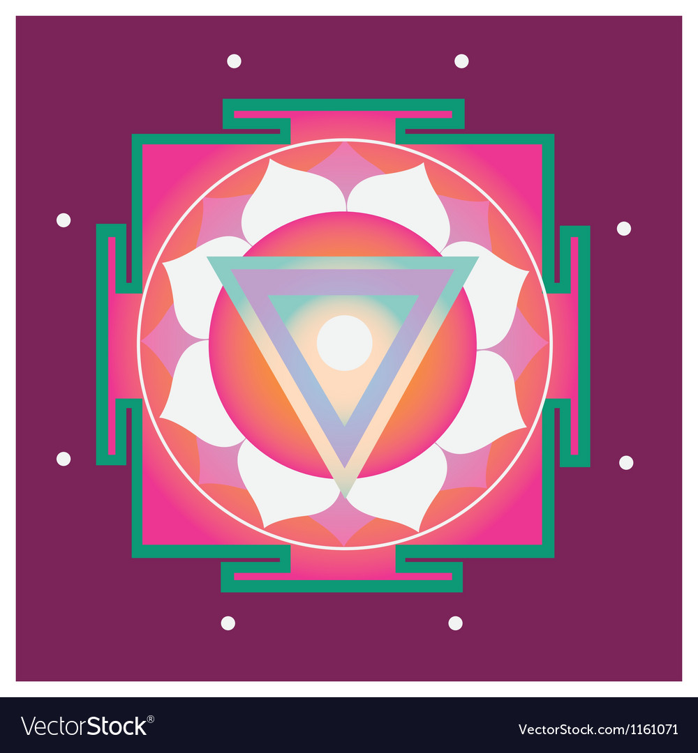 Spring yantra for health vector | Price: 1 Credit (USD $1)