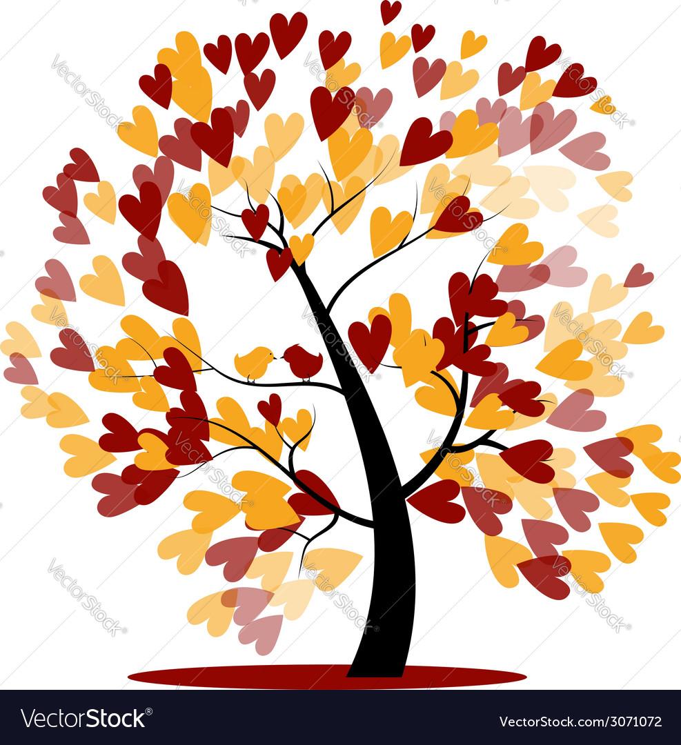 Autumn wedding tree vector   Price: 1 Credit (USD $1)