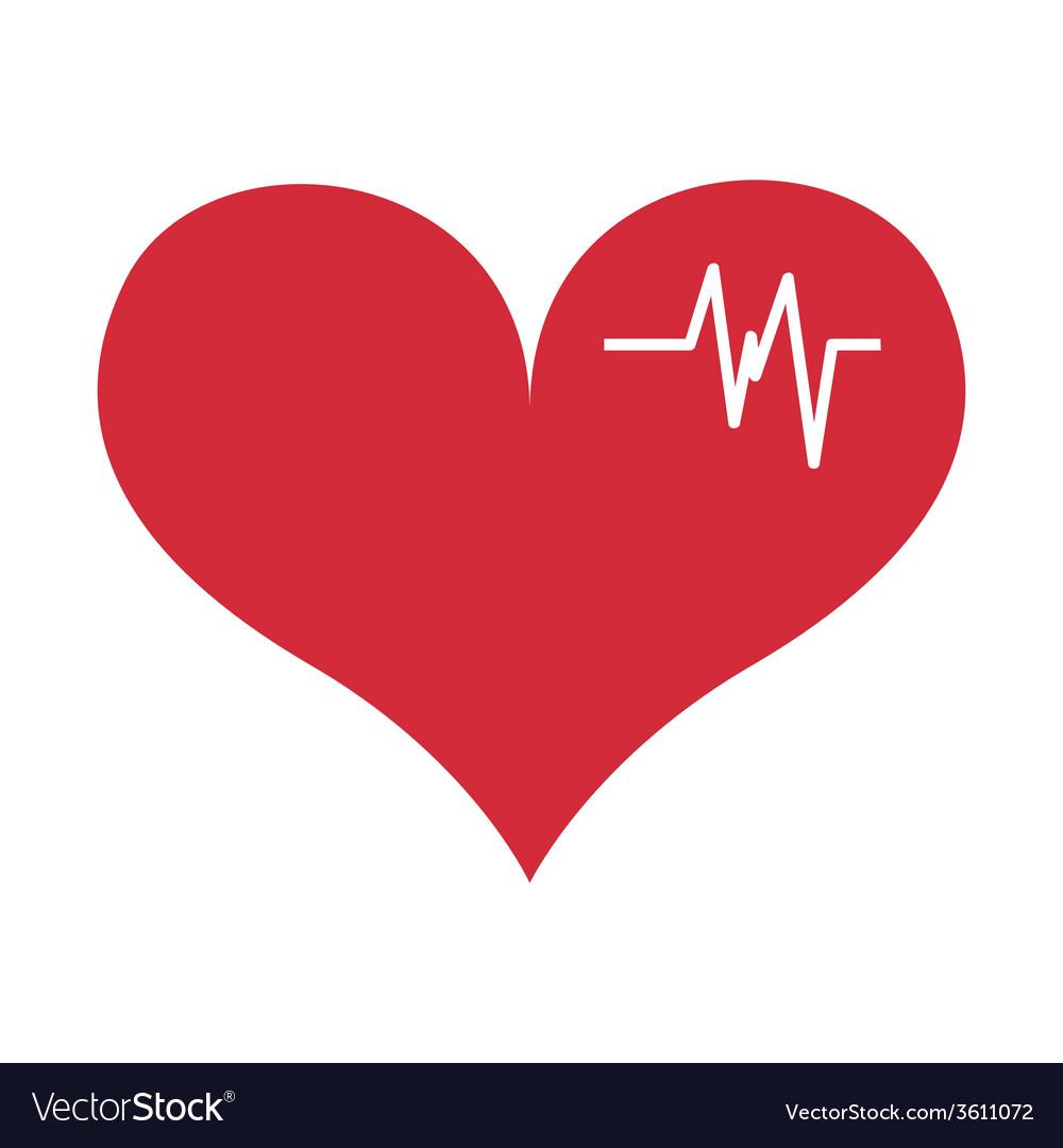 Cardio icon vector | Price: 1 Credit (USD $1)