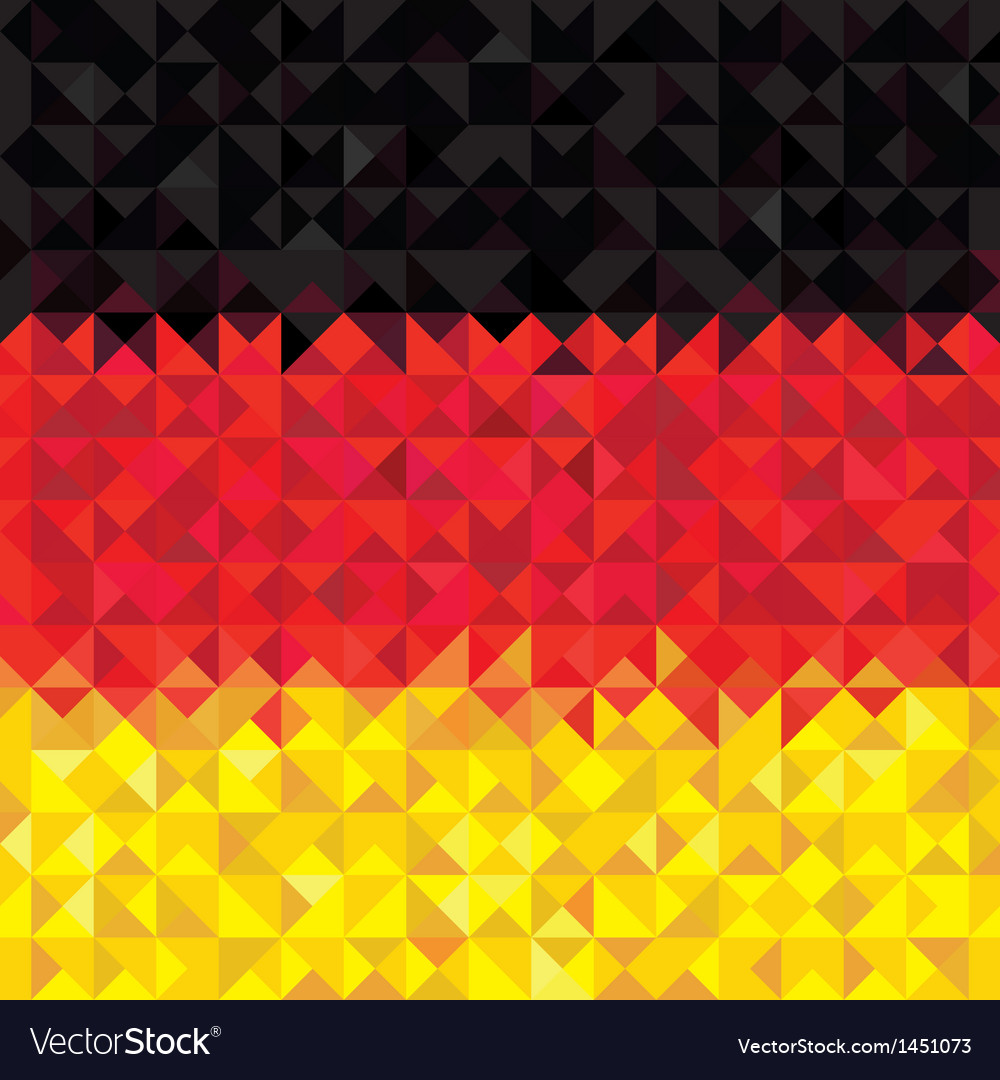 Germany flag vector | Price: 1 Credit (USD $1)