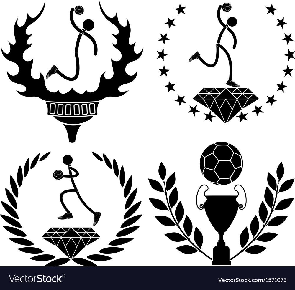 Handball vector | Price: 1 Credit (USD $1)
