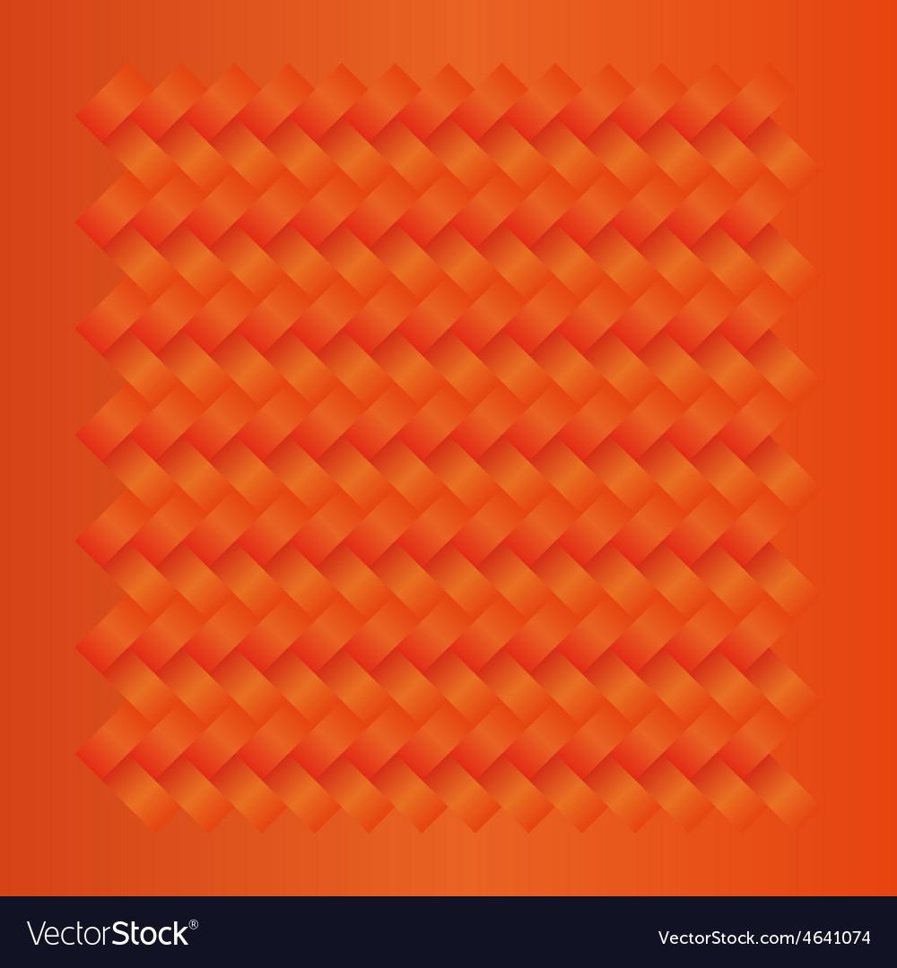 Orange seamless weave pattern vector   Price: 1 Credit (USD $1)