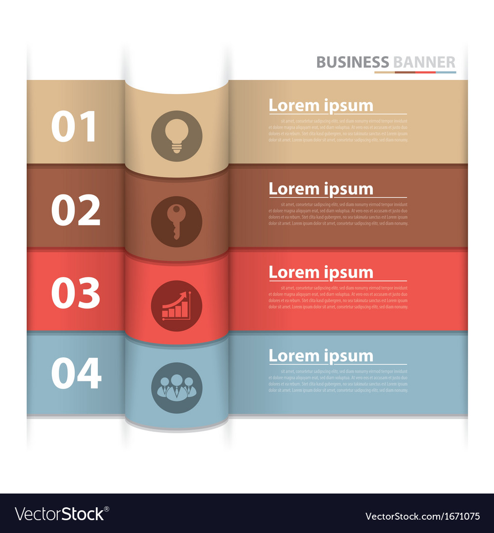 Banner business infographics2 vector | Price: 1 Credit (USD $1)