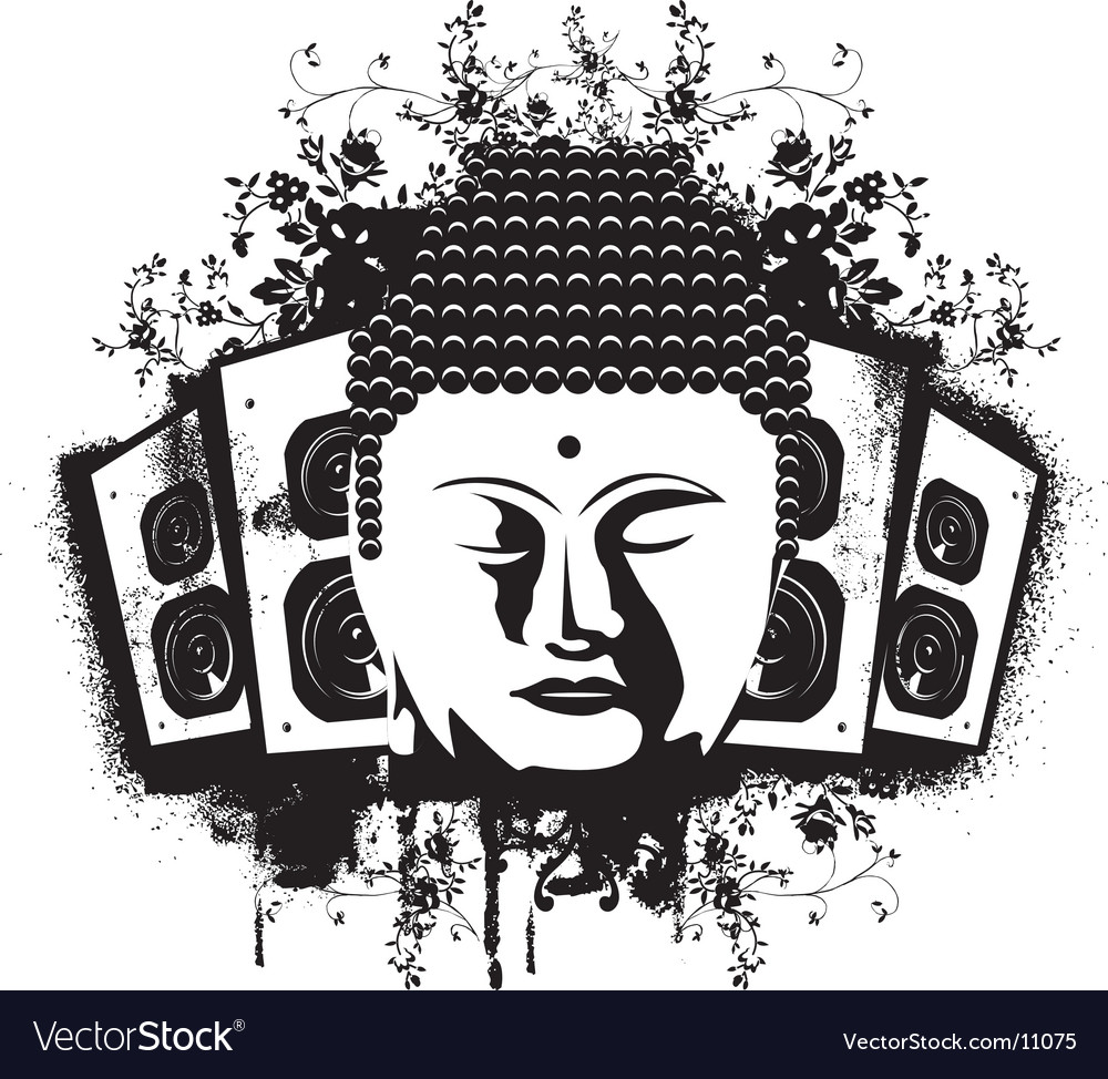 Buddha sound vector | Price: 1 Credit (USD $1)