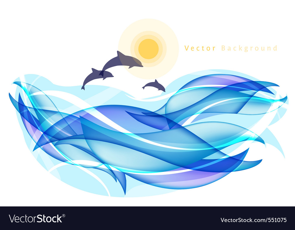 Dolphin logo vector | Price: 1 Credit (USD $1)