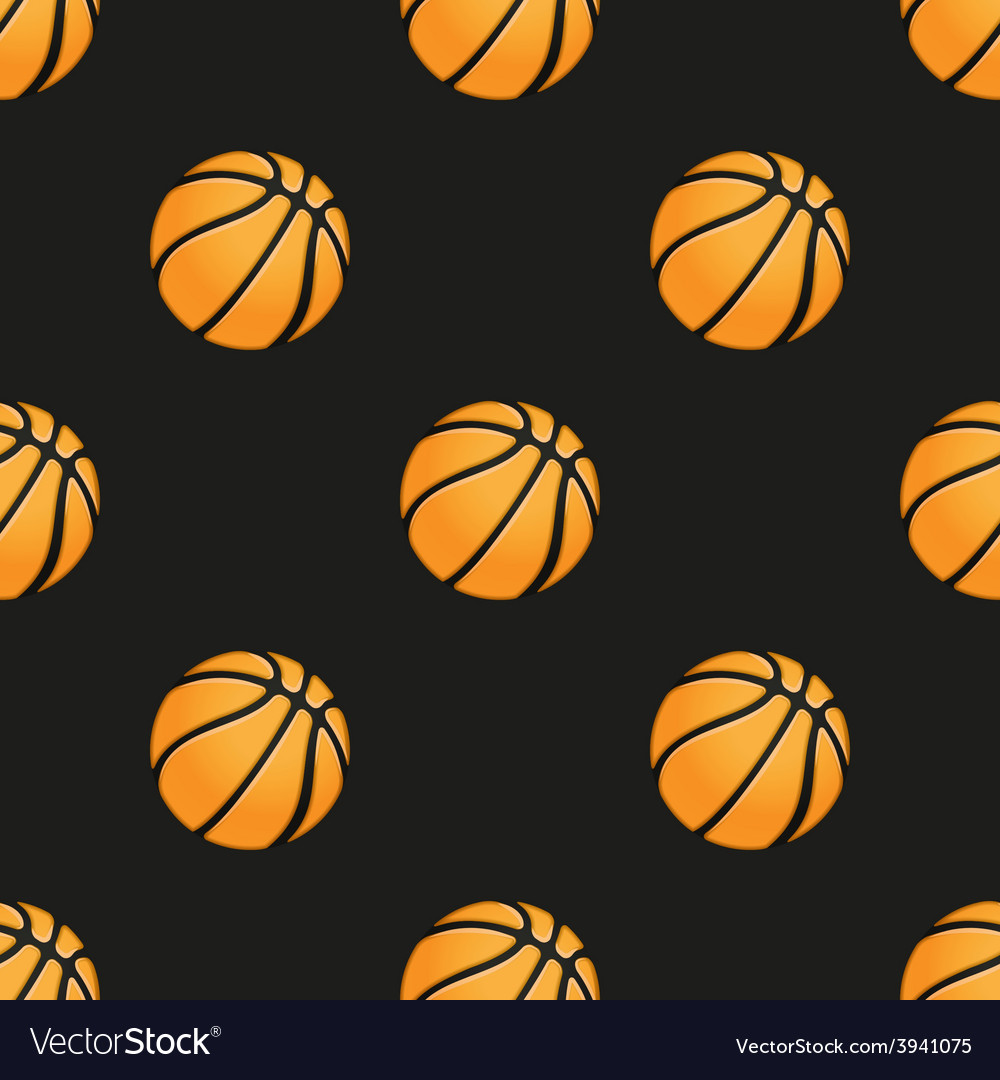 Universal basketball seamless patterns vector | Price: 1 Credit (USD $1)