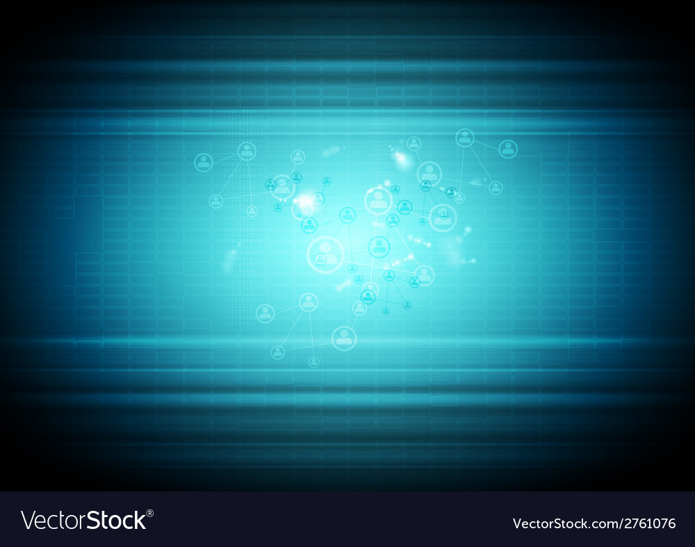 Abstract technology business background vector | Price: 1 Credit (USD $1)