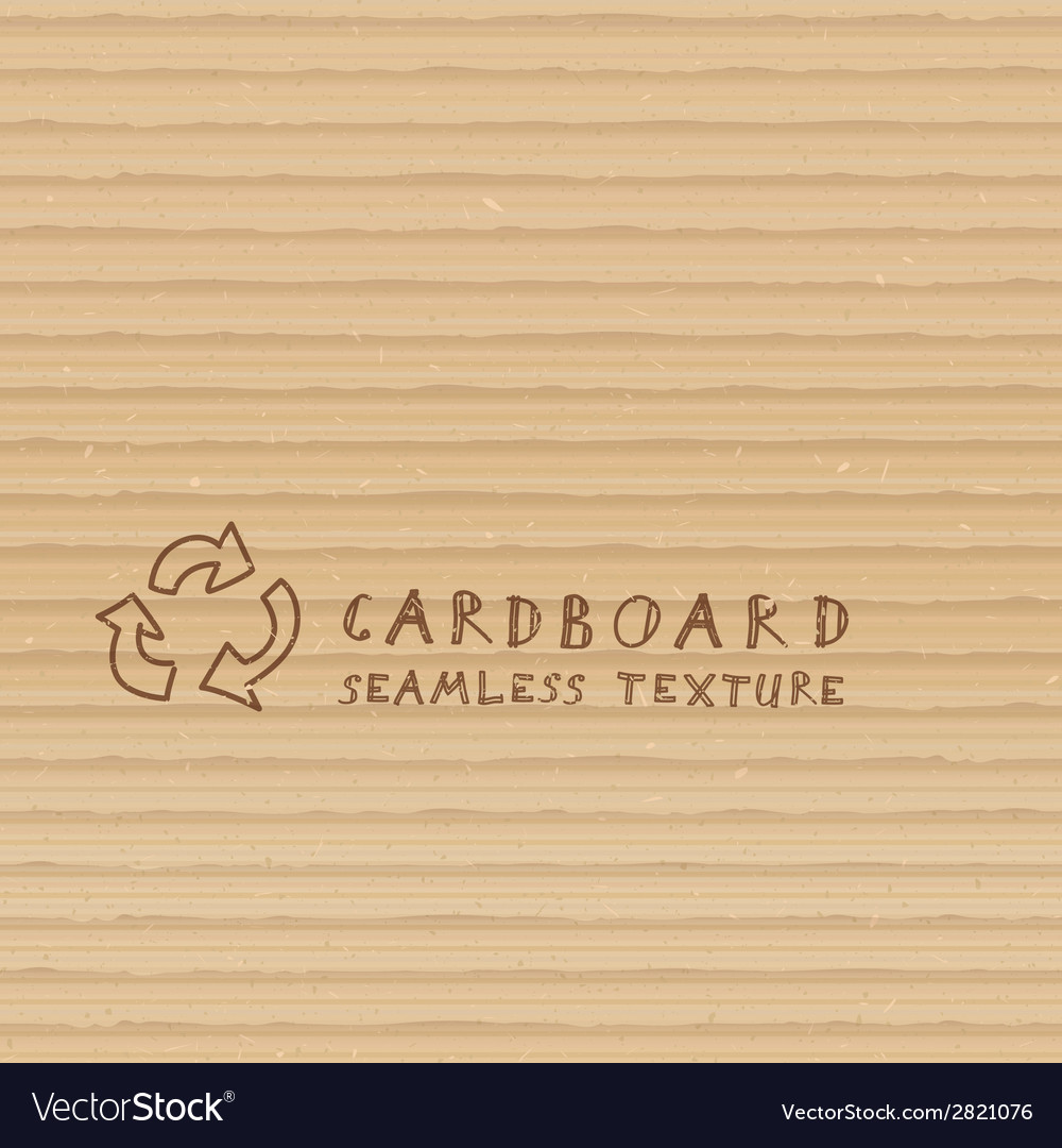 Cardboard seamless pattern vector | Price: 1 Credit (USD $1)