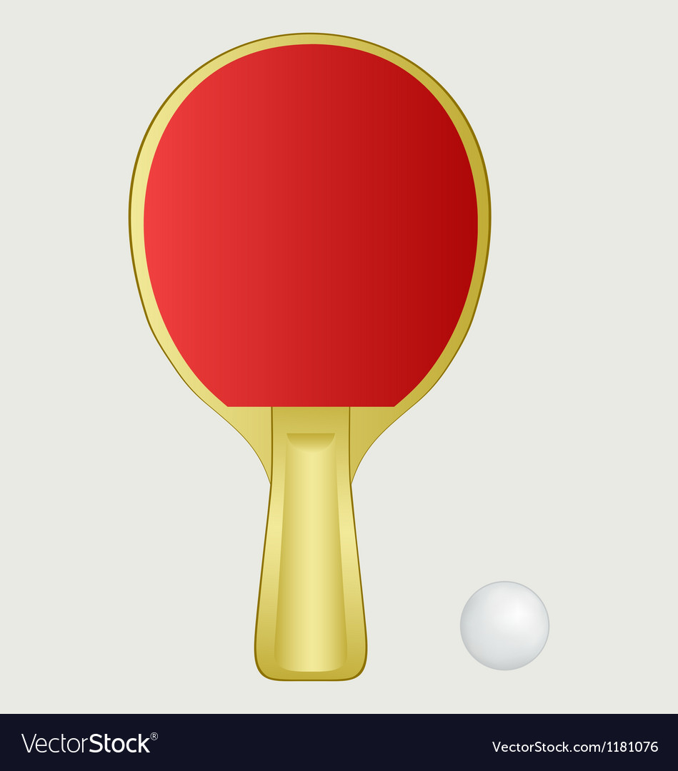 Ping pong vector | Price: 1 Credit (USD $1)