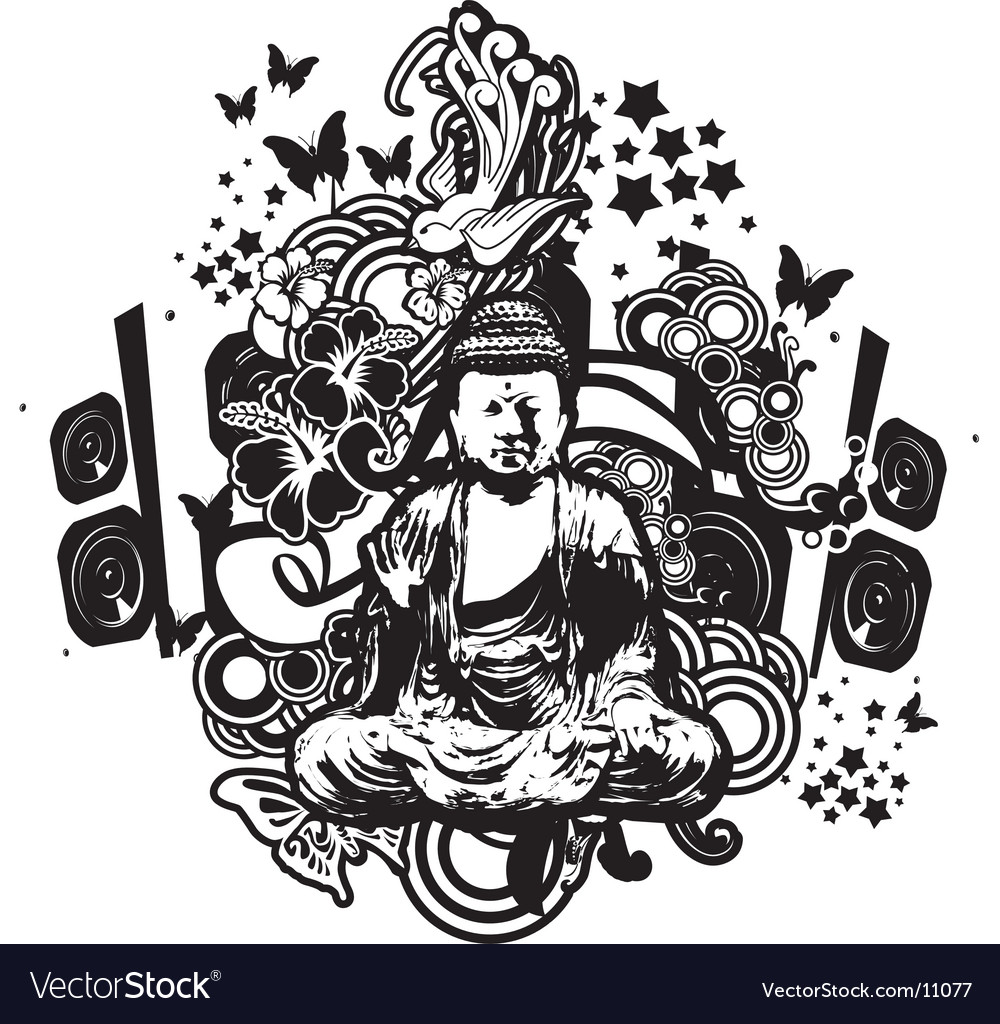 Buddha fantasy vector | Price: 3 Credit (USD $3)