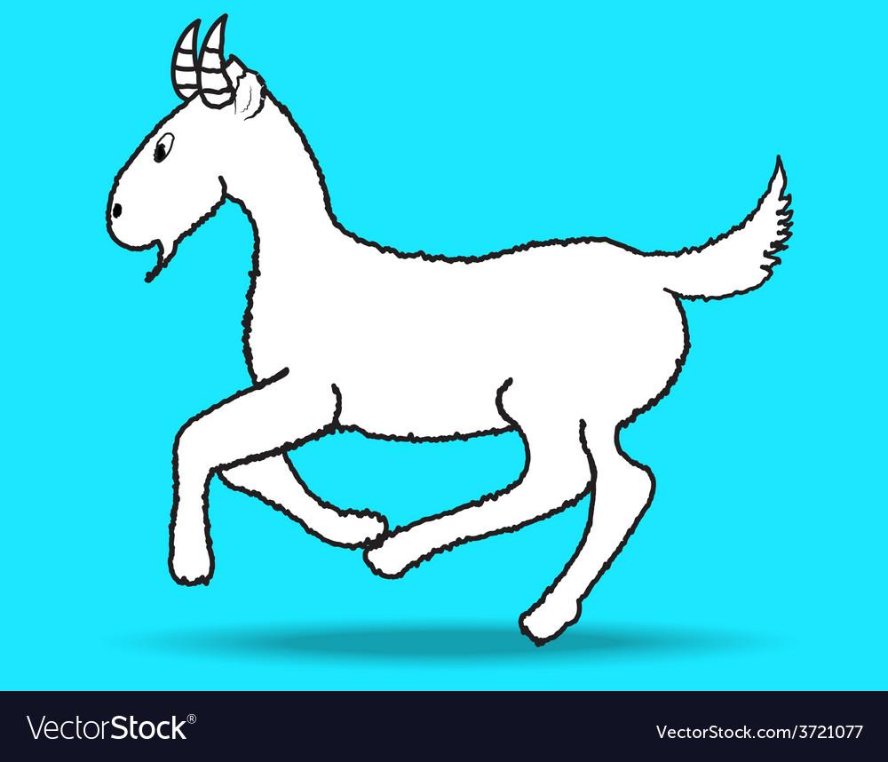 Goat vector | Price: 1 Credit (USD $1)