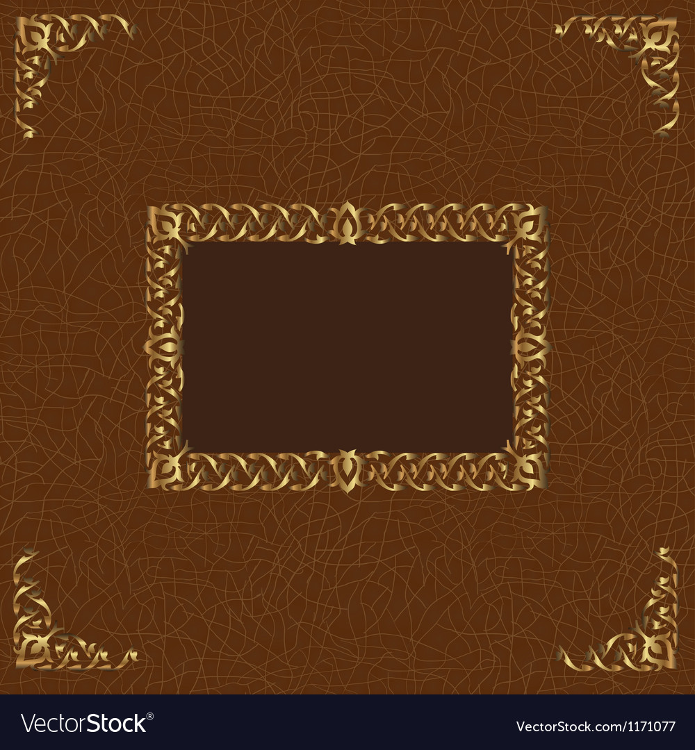 Leather album cover vector | Price: 1 Credit (USD $1)