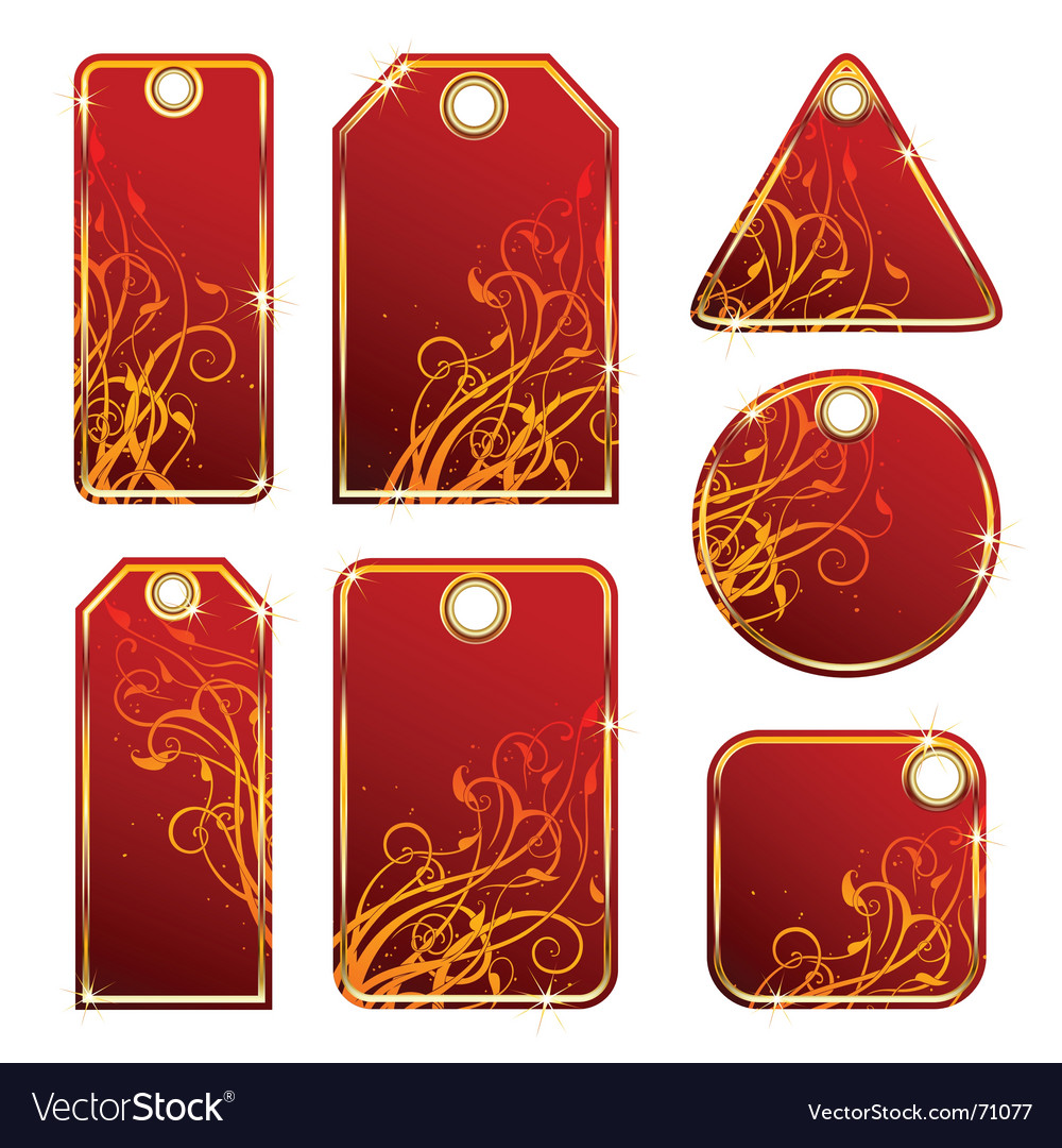 Tags and labels vector | Price: 1 Credit (USD $1)