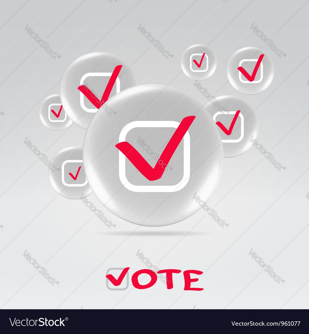 Vote concept background vector   Price: 1 Credit (USD $1)