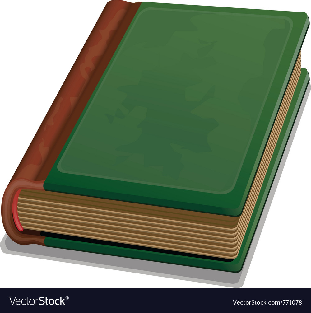 Hardcover book vector | Price: 3 Credit (USD $3)