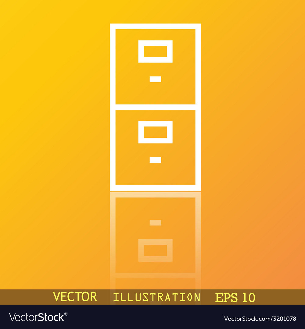 Safe icon symbol flat modern web design with vector | Price: 1 Credit (USD $1)