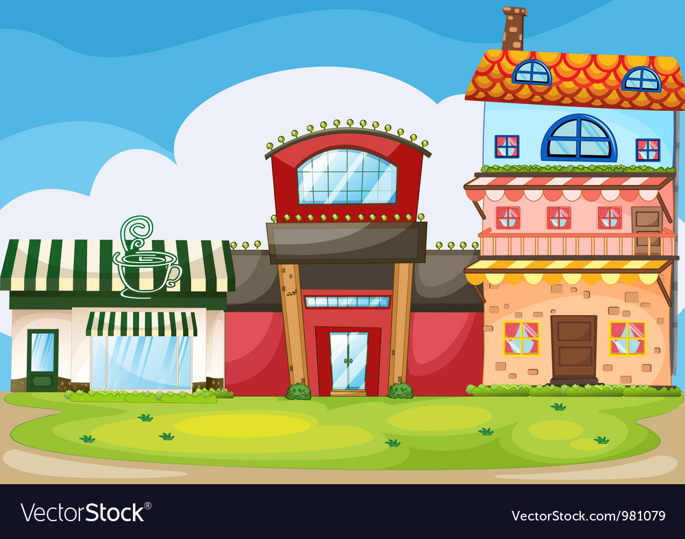 Buildings vector | Price: 3 Credit (USD $3)