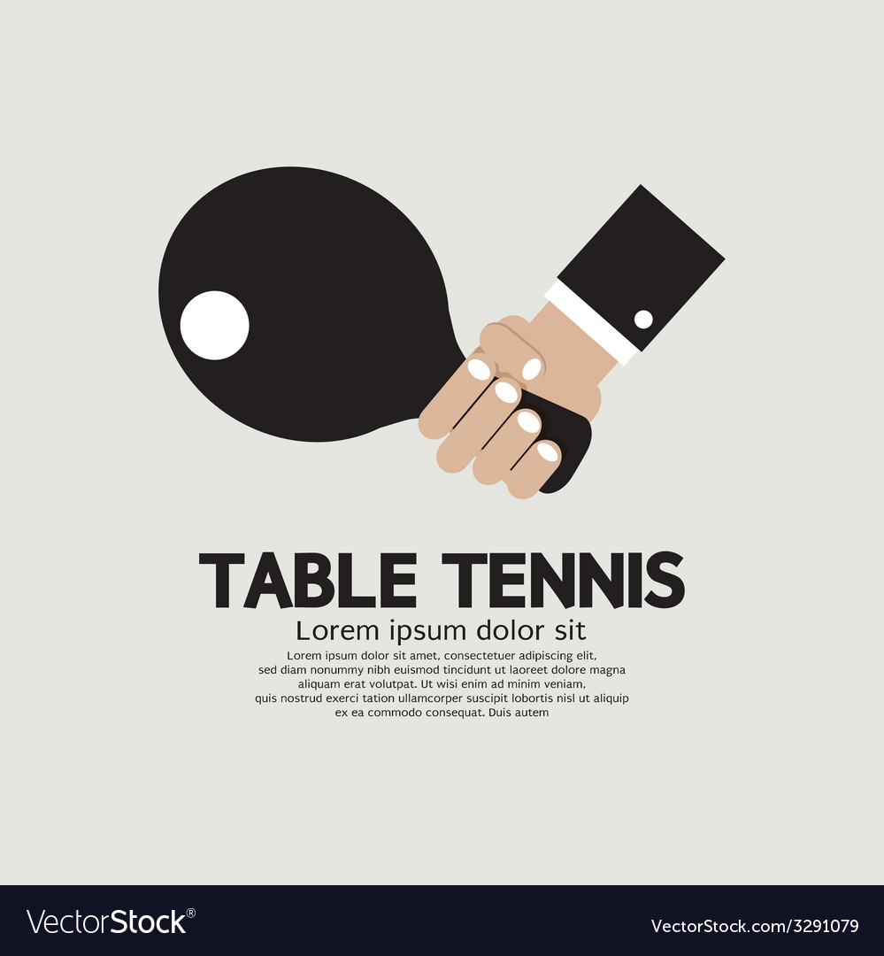 Table tennis indoor sport vector | Price: 1 Credit (USD $1)