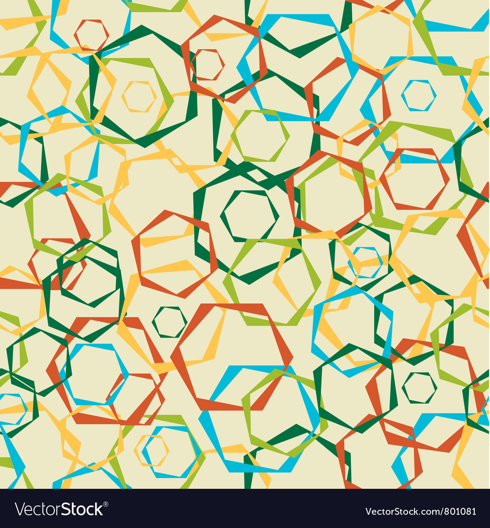 Abstract background from geometrical figures seaml vector | Price: 1 Credit (USD $1)