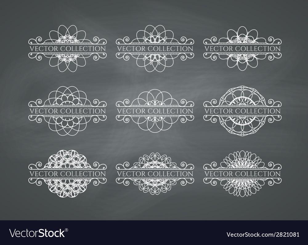 Calligraphic design elements vector   Price: 1 Credit (USD $1)