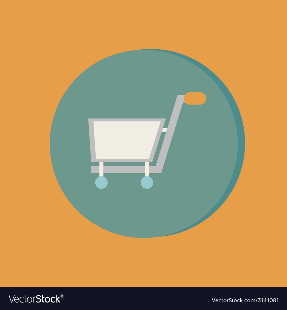 Cart online store vector | Price: 1 Credit (USD $1)