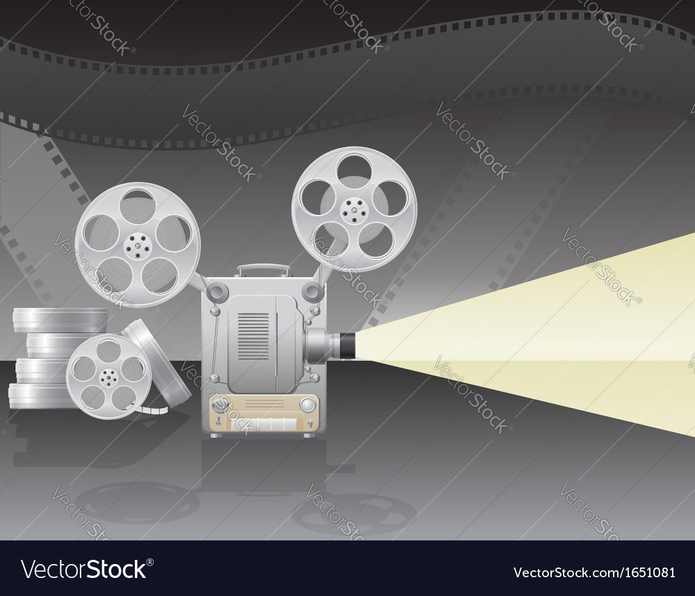 Cinema projector 02 vector | Price: 1 Credit (USD $1)