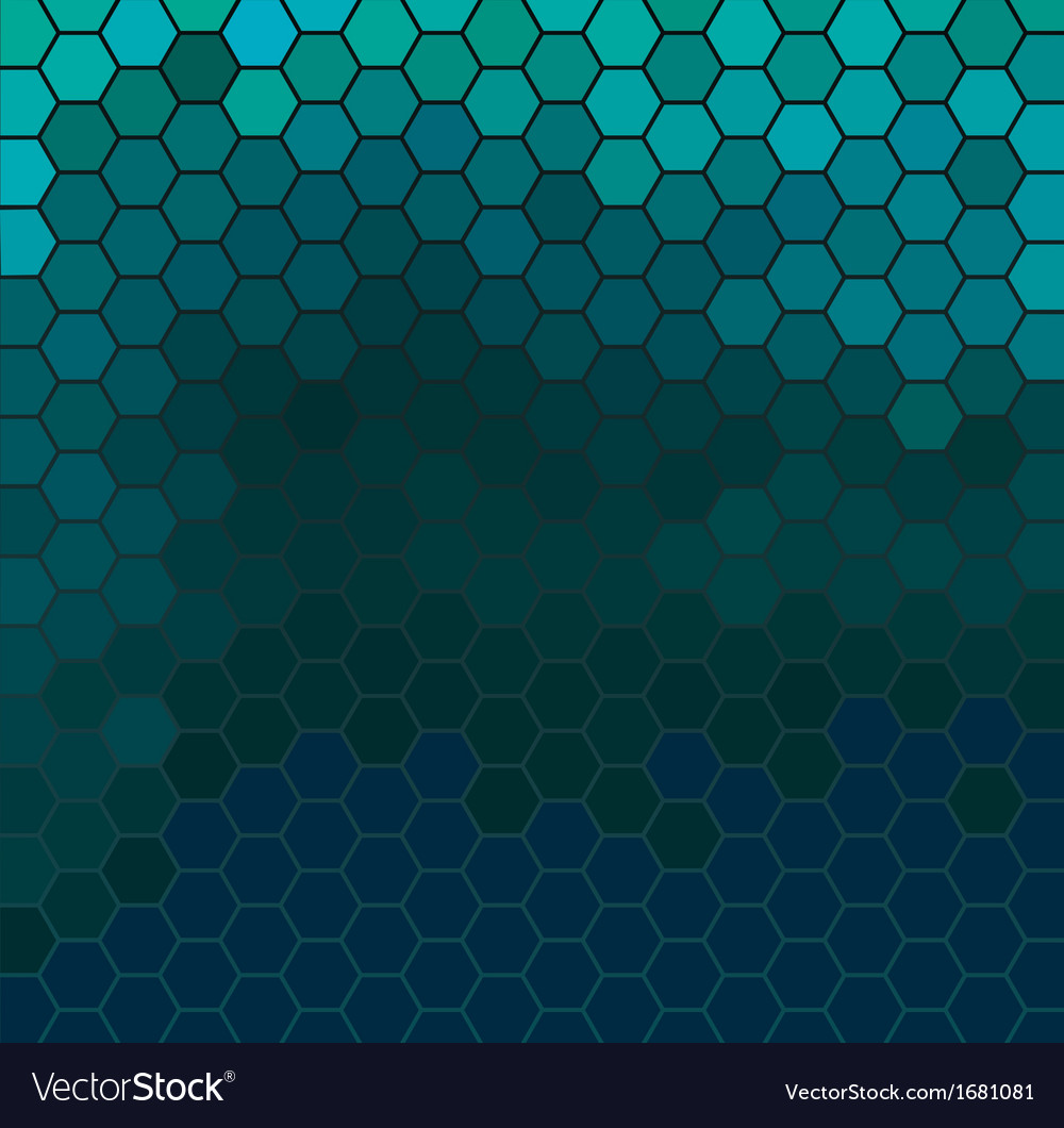 Emerald hexagonal texture vector | Price: 1 Credit (USD $1)