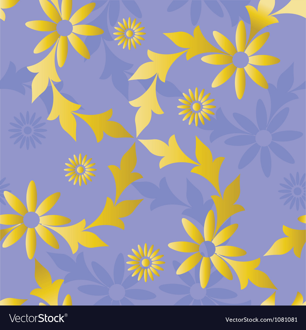 Seamless golden blue vector | Price: 1 Credit (USD $1)