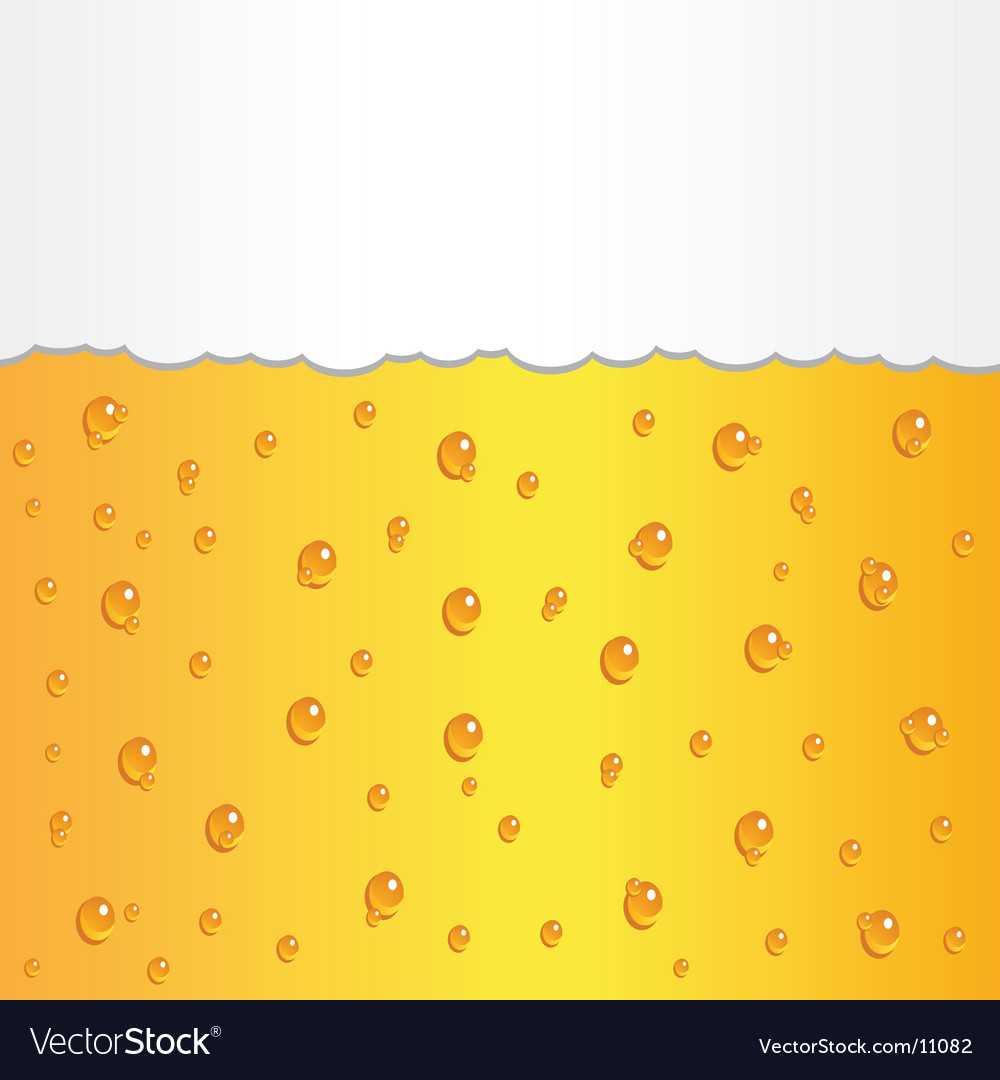Beer foam vector | Price: 1 Credit (USD $1)