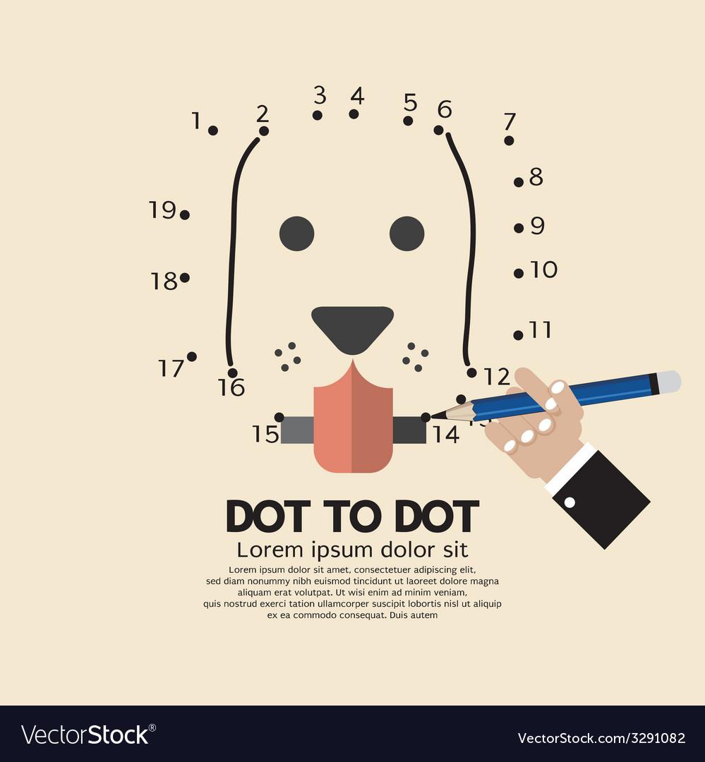 Dot to dot animal games vector   Price: 1 Credit (USD $1)
