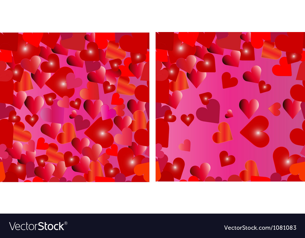 Seamless hearts vector | Price: 1 Credit (USD $1)