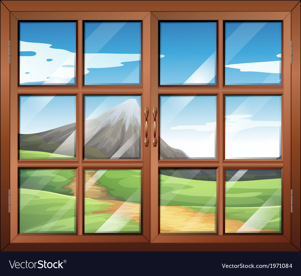 A window vector | Price: 1 Credit (USD $1)