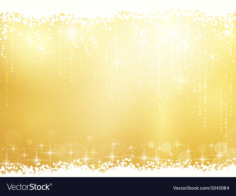 Abstract background with stars snowfall and light vector | Price: 1 Credit (USD $1)