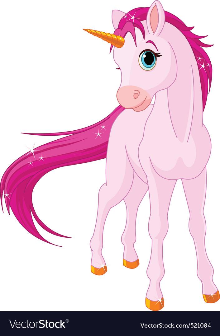 Baby unicorn vector | Price: 3 Credit (USD $3)